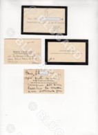 29118 CHINA BUSINESS CARD HANKEOU HANKOW SPINELLI - Documenti Storici