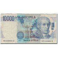 Billet, Italie, 10,000 Lire, 1984-09-03, KM:112b, B+ - [ 2] 1946-… : République