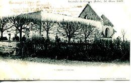 N°64754 -cpa Crespy -l'église- - Zonder Classificatie