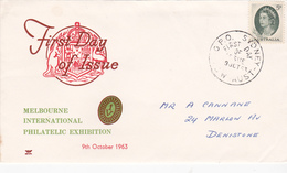 Australia 1963 Royal Definitive Issue 5d Green, Royal FDC Type 1 - FDC