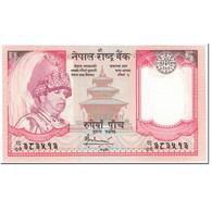 Billet, Népal, 5 Rupees, 2007, Undated (2007), KM:53c, NEUF - Nepal