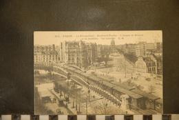 CP, 75, PARIS LE METROPOLITAIN BOULEVARD PASTEUR L'AVENUE DE BRETEUIL ET LES INVALIDES VUE GENERALE - Stations, Underground