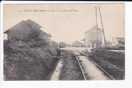 SENS DE BRETAGNE - LA GARE DU TRAM - 35 - Sonstige Gemeinden