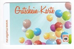 Geschenkkarte  Müller Gift - Gift Cards