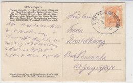 BAHNPOST Soest-Neheim-Hüsten ZUG 2? 21.8.16 AK-Möhentalsperre Sperrmauer Bei Günne - Covers & Documents