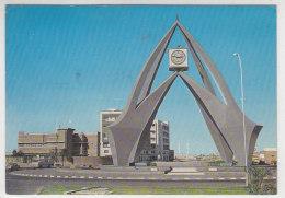 The Monument Of Dubai, Trucial States - Karte Wurde Nachgetaxt - Dubai