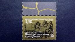 Bosnien-Herzegowina Kroatisch 430 **/mnh, Römische Reisekutsche Des Cursus Publicus - Bosnia Erzegovina