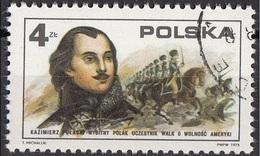 Polonia 1975 Sc. 2120 Kazimierz Pułaski Polacco Eroe Guerra Indipendenza USA Poland Polska - Onafhankelijkheid USA