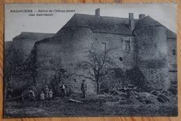02 : Bazoches - Ruines Du Château Féodal (vue Sud-ouest) - Animée : Petite Animation - (n°13061) - France