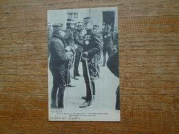 """Le Général Galliéni , Gouverneur Militaire De Paris """" Carte Avec Franchise Militaire De 1915 Assez Rare """" - Guerre 1914-18"""
