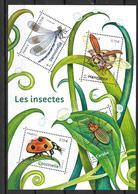 France 2017 Bloc Feuillet F5148 Neuf Insectes à La Faciale - Neufs