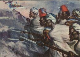 FASCISMO GRUPPO BANDE ALTOPIANO 1938 ILLUSTRATORE TAFURI - Regiments