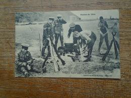 """Fantassins Anglais Préparant Un Repas  """" Carte Avec Franchise Militaire De 1915 Assez Rare """" - Guerre 1914-18"""