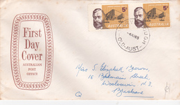 Australia 1965 50th Anniversary Of Lawrence Hargrave,Post Office, First Day Cover - FDC