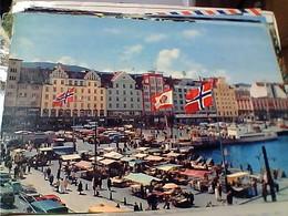 NORGE NORWAY BERGEN THE MARKET V1970 GU3346 - Norvegia