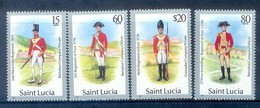 K146- Saint Lucia 1985. Military Uniforms. - St.Lucia (1979-...)