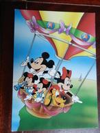 18443) DISNEY TOPOLINO E TOPOLINA SU MONGOLFIERA NON VIAGGIATA - Disney