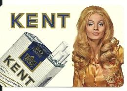 1972 Kent Cigarette Sigaret / Tabac Tabak Tobacco - Calendars