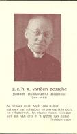 R Vanden Bossche 1941 - 1954 / Pastoor Ste-Katharina Assebroek - Faire-part