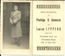 Lucien Lyppens Moerbeke-Waas 1941 - Kommunion Und Konfirmazion