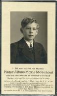Pieter Maenhout Felicien Alice Hooft 1923 - 1943 Knesselare Aalst / St-Amandus Gent - Todesanzeige