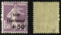 N° 268 CAISSE D'AMORTISSEMENT Neuf N** TB 200€ Signé Calves - Neufs
