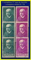 N° 377 377A JEAN CHARCOT - OEUVRES DE MER 1938-39 - 2 EXEMPLAIRES N* TRACE DE CHARNIÈRE + 1EX. OBLITÉRÉ B / TB - - France