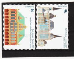 LVT168 UNO WIEN 2009 Michl 1141/42 POSTPREIS 1,42 $ ** Postfrisch SIEHE ABBILDUNG - Wien - Internationales Zentrum