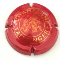79 - Capsule De Champagne - 92 - Taittinger Petit Dessin, Champagne (rouge Et Or Orangé, Lettres Fines) - Taittinger