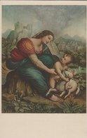Painting - La Vergine Col. Bambino.  Cesare Da Sesto. Italy.  S-4328 - Picture Cards