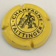 81 - Capsule De Champagne - 82 - Taittinger, Jaune Vif Et Noir - Taittinger