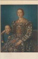 """Painting - """" Eleonore Di Toledo"""" Bronzino. Galleria Uffizi, Firenze   Italy.  S-4329 - Picture Cards"""