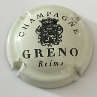 83 - Capsule De Champagne - 1 - Greno, Blanc Cassé Et Noir Reims - Taittinger