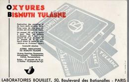 Buvard OXYURES BISMUTH TULASNE   (PPP14875) - Chemist's