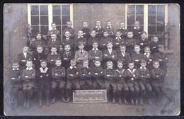 FOTOKAART SINT NIKLAAS - ST ROCHUS SCHOOL In 1913 - KLEINE HULSTSTRAAT - Sint-Niklaas