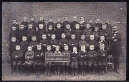 FOTOKAART SINT NIKLAAS - ST ROCHUS SCHOOL - 3e Jaar -  In 1911 - KLEINE HULSTSTRAAT - Sint-Niklaas