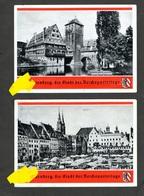 2 Col. Karten Aus Einer Serie, Reichsparteitag Nürnberg 1936, P 1 Und P5 - Deutschland