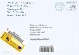 Turkey 2017 Nizip-Gaziantep Meter Neopost EMA Registered Cover - 1921-... Republiek