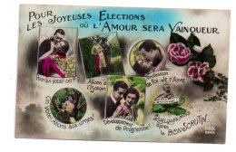 Pour Les Joyeuses Elections Où L'amour Sera Vainqueur- Voir état - Couples