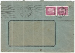Deutsches Reich - 1944 - 2 X 6 - Viaggiata Da Bremen - Storia Postale