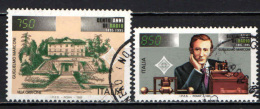 ITALIA - 1995 - GUGLIELMO MARCONI - CENTENARIO DELLA RADIO - VILLA GRIFFONE - USATI - 1991-00: Used