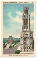 Riverside Church And Grant's Tomb, New York City - Églises