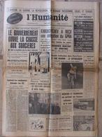 """Journal L'Humanité (3 Oct 1960) Vers Un """"Mac-carthysme Français"""" - Paris-Tours - Assises Nationale De La Route - Journaux - Quotidiens"""