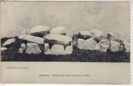 ERDEVEN - DOLMEN DE MANÉ GROH AVEC COFFRE - Dolmen & Menhirs