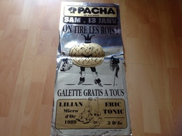 Affiche Pacha 88 Aulnois On Tire Les Roi  - Posters