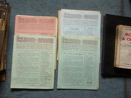Le Chasseur D'illustrés Romans Populaires Maurice Renault George Fronval Lagneau Monniot Lot De 22 Numeros - Books, Magazines, Comics