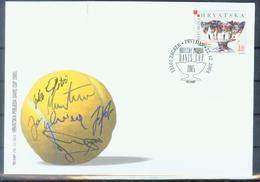 HR 2005-750 DEVIS CUP, CROATIA-HRVATSKA,FDC - Kroatien