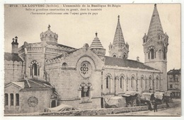 07 - LA LOUVESC - L'ensemble De La Basilique St-Régis - MB 2719 - La Louvesc