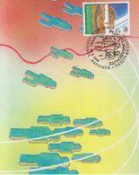 UNO Vienna 1994 Fluchtlingsschutz 1v Maxicard (40463) - Maximumkaarten
