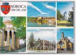 MOLDOVA   MOLDAVIE   MOLDAWIEN   MOLDAU ,  2001 , Soroca - 500 Years , Pre-paid Postcard , Used - Moldova
